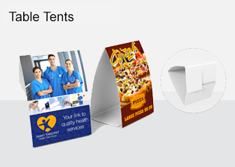 Table Tents | BizCards Today